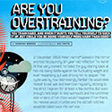 Are you overtraining?