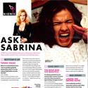 Ask Sabrina May 2010