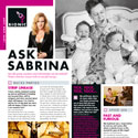 Ask Sabrina May 2011