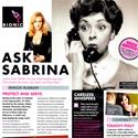 Ask Sabrina October 2010