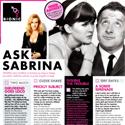 Ask Sabrina September 2011